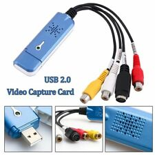USB 2.0 Video Capture Card Converter Audio Video Grabber Adapter TV Tuner Useful