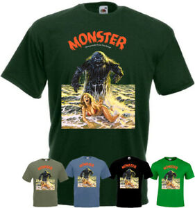 Humanoids From The Deep v1 T-shirt horror movie poster all sizes S-5XL