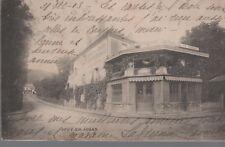 78 - CPA  JOUY EN JOSAS - Hôtel de la Gare (2 scans)