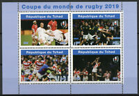 Chad 2019 MNH Rugby World Cup 4v M/S II Sports Stamps