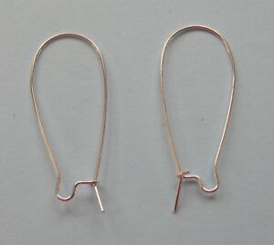 20 x EARRING FINDINGS WIRES FOR JEWELLERY MAKING