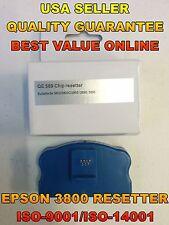 Epson Ink Maintenance Tank chip resetter 3800 3800C 3805 3850 3880 3890 reset kk