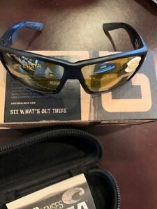 Costa 580P Lenses Sunglasses - Ideal for Fly Fishing, Outdoor Sports New in Box