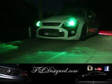 Ford Fg and FPV L.e.d Parker light bulbs- Green by FL Designed xr6 xr8 f6