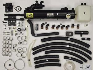 New SBC V8 Fresh Water Cooling Kit, FULL Kit - Wet Joint, Mercruiser years 99-02