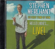 Hello Ladies Live Stephen Merchant CD Audio Comedy Debut Stand Up Show FASTPOST