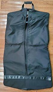 Hartmann Black Travel Garment Suit Bag