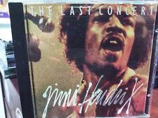 JIMI HENDRIX - THE LAST CONCERT CD Brazil Edition 1995 Rare Purple Haze Fire