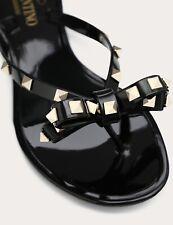 VALENTINO Jelly Flip Flop - ROCKSTUD Bow-knot Thong Women's BNIB