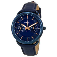 Fossil Tailor Blue Dial Ladies Watch ES4092