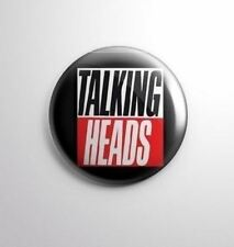 TALKING HEADS -  Pinbacks Badge Button 25mm 1'' -*