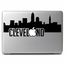 Cleveland with Apple for Apple Macbook Air Pro Laptop Vinyl Decal Sticker Skin