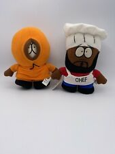 South Park Plush Toys: Kenny And Chef, Kenny Still Have Tags.