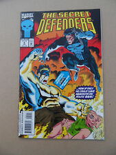 Secret Defenders 5 . Punisher App . Marvel 1993 . FN +
