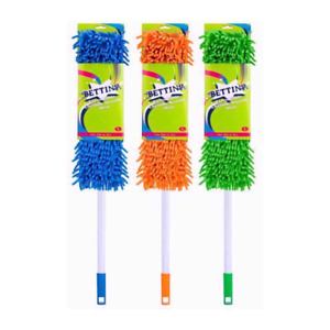 BETTINA EXTENDABLE CHENILLE NOODLE MOP NEW USE WET or DRY