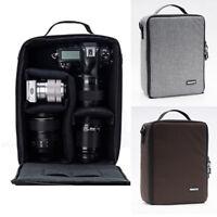 Large Camera Bag Insert Carry Case Partition For DSLR SLR Canon Nikon Sony Lens