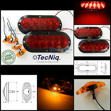 Submersible LED Trailer Light kit, Stop Turn Tail, Utility, RV, Surface MT