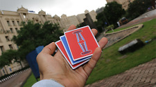 Jerry Nugget Cardistry Trainers 3 PACK Red/Blue Double Backer Learn Flourishing