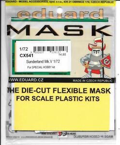 Eduard Sunderland Mk. V Masks for the Special Hobby Kit in 1/72 CX 541 DO ST