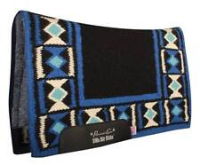 HourGlass Black Royal Blue Professional's Choice SMx HD Air Ride Saddle Pad Pro