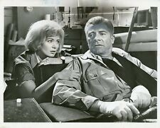 DANA ANDREWS JANETTE SCOTT CRACK IN THE WORLD ORIGINAL 1968 ABC TV PHOTO