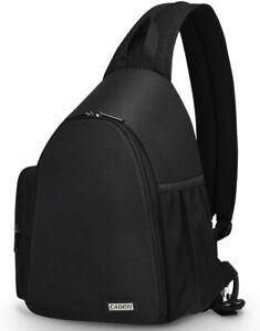 Waterproof Backpack DSLR SLR Camera Case Single Shoulder Bag for Canon EOS
