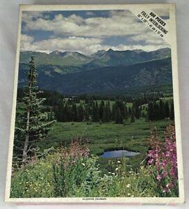 "Whitman Puzzle 600 piece ""Silverton Colorado"" 16x20 Sealed"
