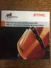 STIHL CHAIN SAW CHAINSAW OPERATION AND MAINTENANCE DVD  MS260 MS440 MS361
