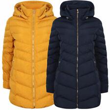 Tokyo Laundry Women' Safflower Longline Quilted Puffer Coat Puffa Bubble Jacket