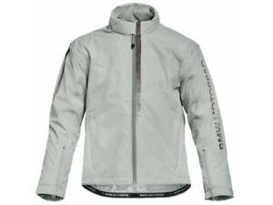 New BMW 2021 RainLock Jacket Unisex L Grey #76817923300