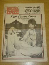 NME 1978 AUG 5 RICHARDS BLONDIE WHO THIN LIZZY SHAM 69