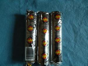 3 PACKS CHARCOAL DISCS/TABLETS for burning incense and resin/Shisha/Magic/Wicca