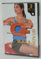 Quick Fix Stability Ball Workout DVD - All Regions Exercise 3 Routines SEALED