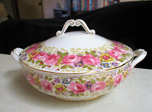 """*RARE*  Royal Albert  """"Serena""""  Vegetable Tureen   1st Quality   Excellent Cond."""