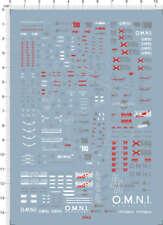 Detail Up Scale 1/144 RG Aile Strike Gundam Model Kit Water Slide Decal 5942