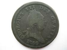 Isle of Man 1786 Penny.