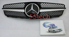 Front Grille grill 08~14 w204 C230 C300 C350 1 FIN BK  Mercedes Benz