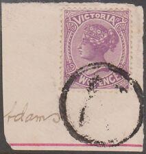 (RU19) 1876 Victoria 2d violet QVIC on place reg