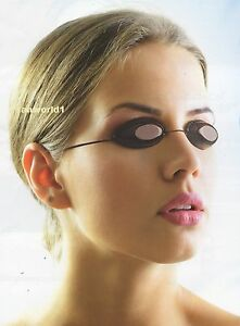 2 PAIR OF ELASTIC SUNBED TANNING GOGGLES FOR EYE PROTECTION SLIMLINE IGOGGLES
