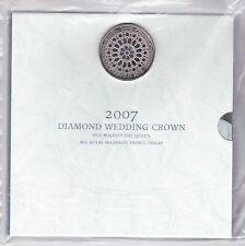 2007 diamante wedding UNCIRCULATED £ 5 chioma Pack