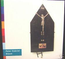 Peter Gabriel - STEAM [3 Mixes] Promo CD Single [1992] Brand New