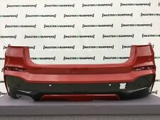 BMW X4 M SPORT F26 2014-2018 REAR BUMPER IN RED GENUINE [B884]