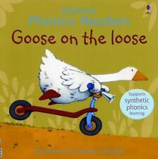 Usborne Phonics: Goose on the Loose by Phil Roxbee Cox New Paperback