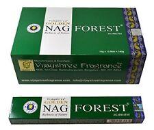 GOLDEN NAG FOREST AGARBATHI INCENSE PACK OF 12 - 930542