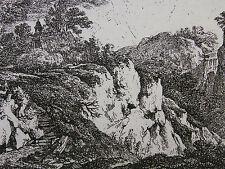 FRANZ RECHBERGER ´DIE KIRCHE AUF DER BERGSPITZE; CHURCH ON A HILLTOP´  ~1800