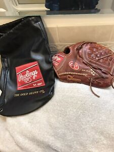 "Rawlings Primo PRM1200 12"" Baseball Softball Pitchers Glove Right Hand Throw"