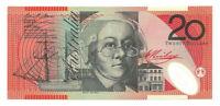 Australien  20 Dollars  2010  Pick. 59g  Polymer   UNC