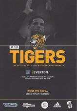 Programa del Casco V Everton 2013/14 Como Nuevo