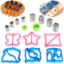 Kids Sandwich Cookie Cutters Toast Mould Dolphin Butterfly Dinosaur Molds Lunch