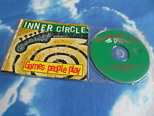 INNER CIRCLE - GAMES PEOPLE PLAY 4 TRK GERMAN MAXI CD SINGLE E.P W/RARE REMIXES